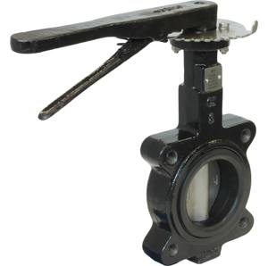 CAST IRON LUGGED ANSI 150 EPDM BUTTERFLY VALVES