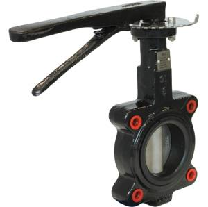 CAST IRON LUGGED ANSI 150 NBR BUTTERFLY VALVES