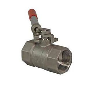 2-PCE BALL VALVE FB/RB NPT ENDS SPRING RETURN BALL