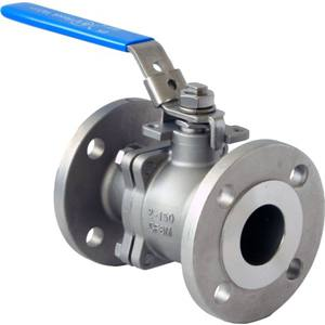 1-PCE BALL VALVE RB BSP ENDS LOCKABLE LEVER