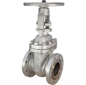 CAST STEEL GATE VALVE OS&Y FLANGED CLASS 150 RF with HF Seats