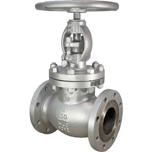 CAST STEEL GLOBE VALVE OS&Y CLASS 150 RF with HF Seats