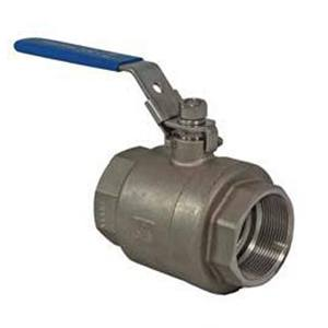 2-PCE BALL VALVE FB BSP ENDS LOCKABLE LEVER