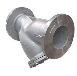 STAINLESS STEEL Y STRAINER FLANGED CLASS 150 with DRAIN PLUG